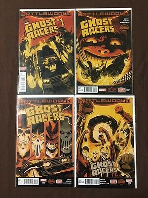 COMIC - GHOST RACERS 2015 - #1 #2 #3 #4 COMPLETE 1st PRINT VF NEW/NUEVO