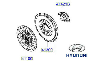 Genuine Hyundai Trajet Clutch - 4130039000