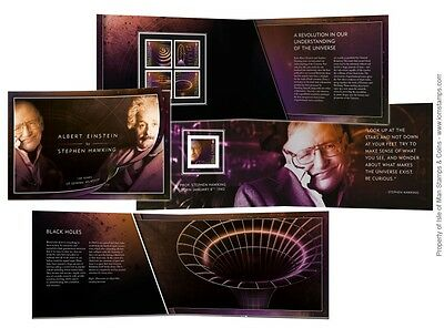 Einstein & Hawking 100 Years of General Relativity Prestige Booklet  (UK71)