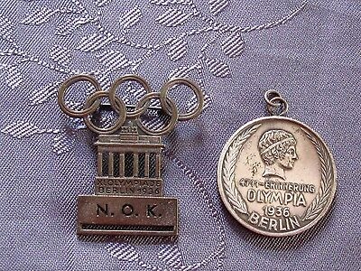 Medaille Jeux Olympique Berlin 1936 Collection Cyril Edmond Blanc