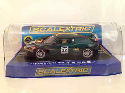 Scalextric C3427 Lotus Evora GT4 No.22 Green/Gold LTD ED 1 of 1000