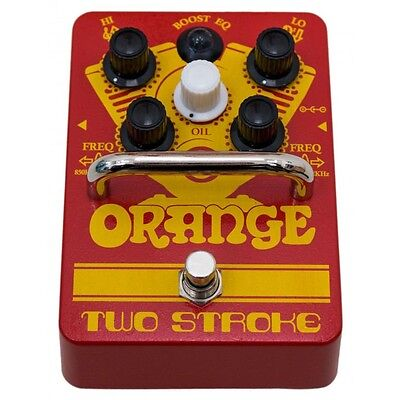 Orange Two Stroke Boost EQ Guitar Effects Pedal