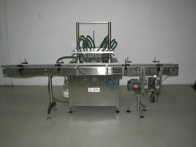 Fg 10 Station Inline Vacuum Filler Model 275 Last Running Nail Polish