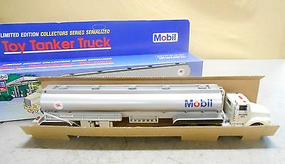 Mobil Oil Toy Tanker Truck 1993 Limited Edition Collectors Series Serialized NIB