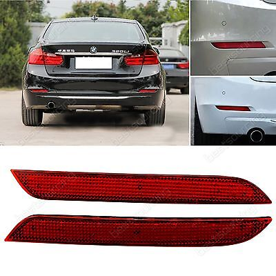 2x LED Rear Bumper Reflector Turn Signal Reverse Brake Stop Light BMW 3 4 Series