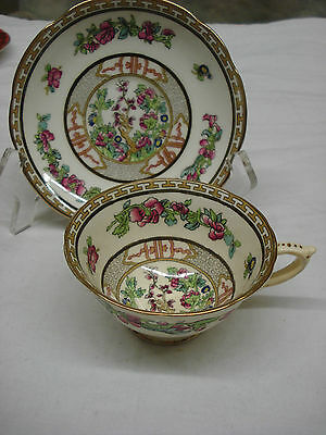 TEA CUP & SAUCER Paragon INDIAN TREE Made In England TR4