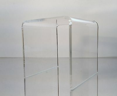 Clear Acrylic Square Riser Display Stand 6 x 6 x 6""