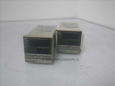 E5CW-Q1KJ E5CWQ1KJ Omron Temperature Controller *Lot Of 2X* (Used and Tested)