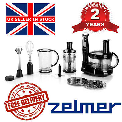 @ NEW Electric Kitchen ZELMER Hand Blender HB1320 Mixing cup ice crusher