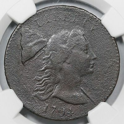 1794 S-18b R-4 NGC VF Details Liberty Cap Large Cent Coin 1c