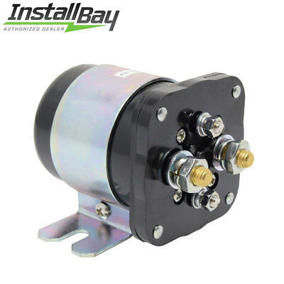 Install Bay IB500 500 Power Relay battery Isolator 500 Amp High Current For 12V