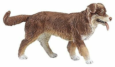 Papo 54038 Australian Shepherd Herding Dog Toy Model Figurine - NIP