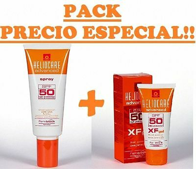 HELIOCARE ADVANCED SPRAY SPF50 200ml+HELIOCARE ADVANCED XF GEL SPF50 50ml 160008
