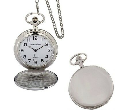 Personalized Quality Pocket Watch Groomsmen Gifts - Free Engraving