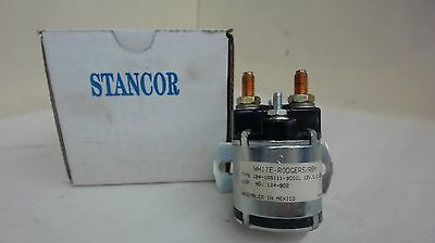 Stancor / White-Rodgers 124-902 Dc Power Contactor Industrial Relay