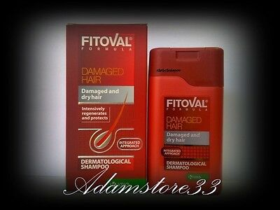 FITOVAL SHAMPOO TREATMENT for damaged weakened dry frigile brittle & HAIR LOSS