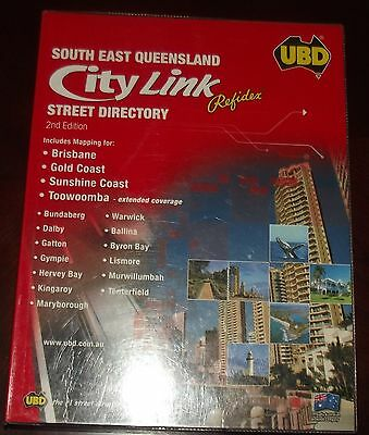 UBD South East Queensland Street Directory 2nd Edition 2009 Maps