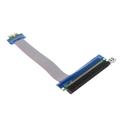 PCI PCIe Express 1x To 16x Extender Riser FFC PCI-E 1x-16x Flexible Flat Cable