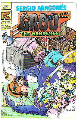 GROO THE WANDERER #3 (VF+) Sergio Aragones! Classic 1983 Pacific Comics