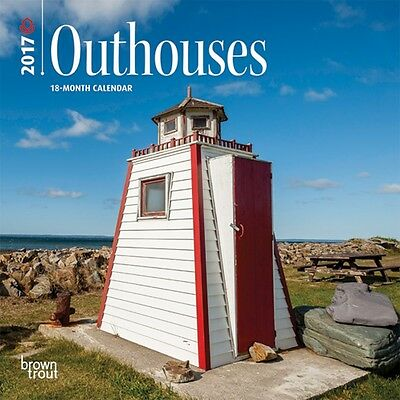 Outhouses  Mini Wall Calendar