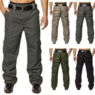 Cargo Hose Jeans Loose Fit Chinohose Cargohose Work Trousers Master-Builder