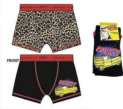 Only Fools and Horses Official Boxer CUSHTY Short and Sock Set