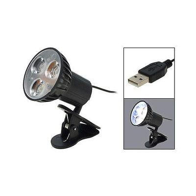 USB Plug Clip-on-3 LED-Licht-Lampe fuer Laptop GY