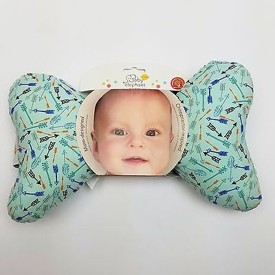 Baby Elephant Ears Head Support Pillow For Babies New - Arrows