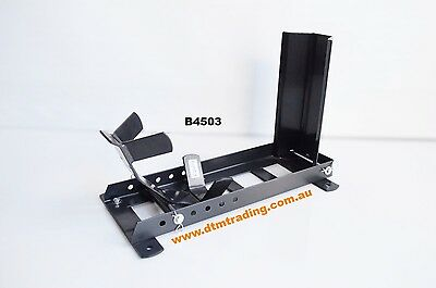 Motorcycle Wheel Chock Support, Motorcycle Parking Stand, @dtm Trading