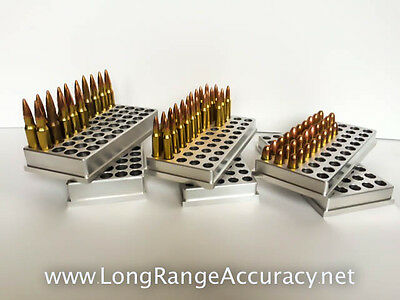 Reloading Block / Tray / 243 Winchester - NEW - CNC Machined Aluminum