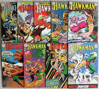 HAWKMAN (LOT OF 9) # 11 12 13 14 15 24 25 26 27 - MURPHY ANDERSON art
