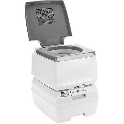 NEW Passport Potty Large 18L Portable Travel Flush Toilet Camping & Ice Fishing