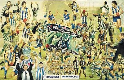 AFL Sports North Melbourne Limited Edition Poster Signed Jamie Cooper Rare