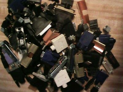 30 Pounds - Gold Recovery - Electronic Connectors Precious Metals- E Waste Scrap