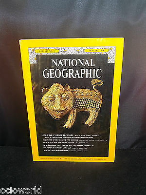 Revista National Geographic en ingles vol 145 num 1 January 1974