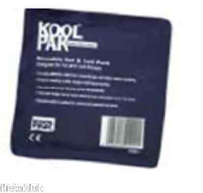 Koolpak Hot and Cold Luxury Gel Packs 13 x 14cm re-useable FREE P&P