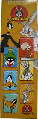 Looney Tunes - Daffy Duck and Bugs Bunny Set of 6 Magnetic Bookmarks