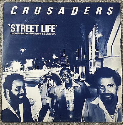 "The Crusaders - Street Life...... Limited Edition 12"" Vinyl  -  MCAT 513"