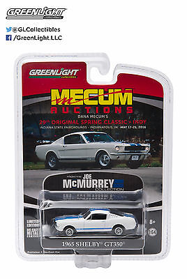 Greenlight 1965 Ford Shelby Mustang Gt350 Fastback Mecum Exclusive 1:64 51047