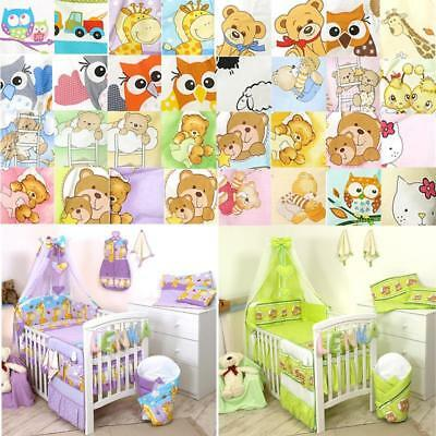 10 piece Baby Bed linen Set 135x100cm for bed 140x70cm Baby Children bed linen