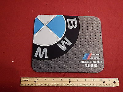 BMW Motorcycle Computer Mouse Pad Logo Collectible
