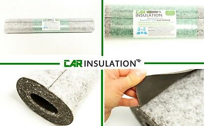1m² 6Kg Car Sound Insulation PeaceMAT™ Deadening Barrier MLV Heavy Layer Mat UK