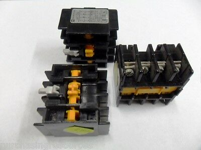 Assorted Contactor Electrical Parts - Brand New!