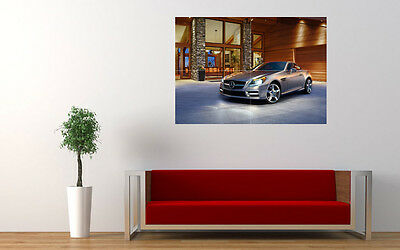 "2012 MERCEDES SLK CLASS ROADSTER ART PRINT POSTER PICTURE WALL 33.1"" x 23.4"""