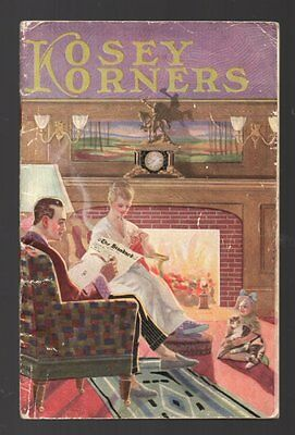 KOSEY KORNERS Canadian Consolidated Felt Co KITCHENER Slippers Booklet 1920s