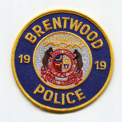 Brentwood Missouri Police Patch
