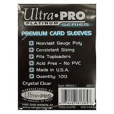 NEW ATC Ultra Pro Single Sleeves (100 Pack) from Art by jenny design shop