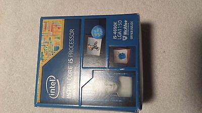 i5 4690K intel 1150 cpu - with stock cooler - new in an open box