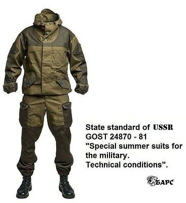 """Gorka 3, 4 """"BARS"""" original russian army  mountain special force uniform suit"""