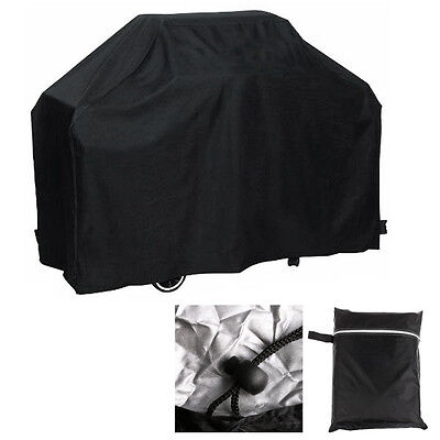 Large BBQ Cover Heavy Duty Waterproof Rain Snow Barbeque Grill Protector 2 Size